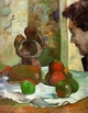 Art - Oil Paintings - Masterpiece #4154 - Paul Gauguin - Still Life with Profile of Laval - Gallery Quality