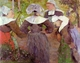 Art - Oil Paintings - Masterpiece #4155 - Paul Gauguin - Four Breton Women - Gallery Quality