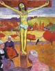 Art - Oil Paintings - Masterpiece #4158 - Paul Gauguin - The Yellow Christ - Gallery Quality