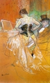 "Art - Oil Paintings - Masterpiece #4179 - Henri Toulouse-Lautrec - Woman in a Corset (Study for ""Elles"") - Gallery Quality"