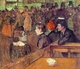 Art - Oil Paintings - Masterpiece #4180 - Henri Toulouse-Lautrec - At the Moulin de la Galette - Museum Quality
