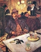 Art - Oil Paintings - Masterpiece #4183 - Henri Toulouse-Lautrec - M. Boileau Au Cafe - Gallery Quality
