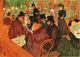 Art - Oil Paintings - Masterpiece #4184 - Henri Toulouse-Lautrec - Moulin Rouge - Museum Quality