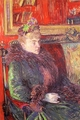 Art - Oil Paintings - Masterpiece #4187 - Henri Toulouse-Lautrec - Madame de Gortzikoff - Museum Quality