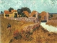 Art - Oil Paintings - Masterpiece #4195 - Vincent Van Gogh - Farmhouse in Provence - Museum Quality