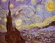 Art - Oil Paintings - Masterpiece #4198 - Vincent Van Gogh - Starry Night - Gallery Quality