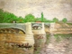 Art - Oil Paintings - Masterpiece #4204 - Vincent Van Gogh - The Seine with the Pont de la Grand Jatte - Gallery Quality