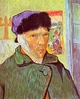 Art - Oil Paintings - Masterpiece #4217 - Vincent Van Gogh - Self Portrait With Bandaged Ear - Museum Quality