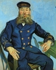 Art - Oil Paintings - Masterpiece #4221 - Vincent Van Gogh - The Postman, Joseph Roulin - Gallery Quality