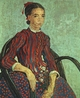 Art - Oil Paintings - Masterpiece #4222 - Vincent Van Gogh - La Mousme, Sitting - Museum Quality