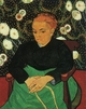 Art - Oil Paintings - Masterpiece #4226 - Vincent Van Gogh - Madame Augustine Roulin - Gallery Quality