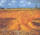 Art - Oil Paintings - Masterpiece #4232 - Vincent Van Gogh - Wheatfields With Cypress at Arles - Gallery Quality