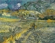 Art - Oil Paintings - Masterpiece #4234 - Vincent Van Gogh - Landscape at Saint-Remy - Gallery Quality