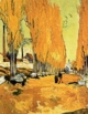 Art - Oil Paintings - Masterpiece #4239 - Vincent Van Gogh - Les Alicamps - Gallery Quality