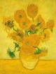 Art - Oil Paintings - Masterpiece #4247 - Vincent Van Gogh - Sunflowers ww - Gallery Quality