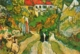 Art - Oil Paintings - Masterpiece #4259 - Vincent Van Gogh - Village Street and Steps in Auvers with Figures - Gallery Quality
