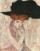 Art - Oil Paintings - Masterpiece #4264 - Gustav Klimt - The Black Feather Hat - Gallery Quality