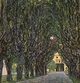 Art - Oil Paintings - Masterpiece #4266 - Gustav Klimt - Avenue in Schloss Kammer Park - Gallery Quality