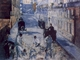 Art - Oil Paintings - Masterpiece #4271 - Edouard Manet - La Rue Mosnier aux Paveurs - Museum Quality