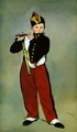 Art - Oil Paintings - Masterpiece #4272 - Edouard Manet - The Fifer - Gallery Quality