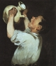 Art - Oil Paintings - Masterpiece #4274 - Edouard Manet - Boy with a Pitcher - Gallery Quality