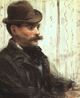 Art - Oil Paintings - Masterpiece #4282 - Edouard Manet - Portrait of Alphonse Maureau - Gallery Quality