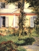 Art - Oil Paintings - Masterpiece #4290 - Edouard Manet - The House at Rueil - Gallery Quality