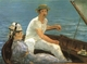Art - Oil Paintings - Masterpiece #4291 - Edouard Manet - Boating - Museum Quality