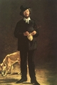 Art - Oil Paintings - Masterpiece #4292 - Edouard Manet - Portrait of Gilbert Marcellin Desboutin - Museum Quality