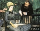 Art - Oil Paintings - Masterpiece #4300 - Edouard Manet - In the Conservatory - Museum Quality
