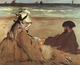 Art - Oil Paintings - Masterpiece #4306 - Edouard Manet - On the Beach - Museum Quality