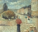 Art - Oil Paintings - Masterpiece #4318 - Edvard Munch - Spring Day on Karl Johann - Gallery Quality