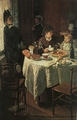 Art - Oil Paintings - Masterpiece #4343 - Claude Monet - The Luncheon - Gallery Quality
