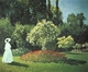 Art - Oil Paintings - Masterpiece #4346 - Claude Monet - Jeanne-Marguerite Lecadre in the Garden - Museum Quality