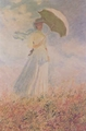 Art - Oil Paintings - Masterpiece #4362 - Claude Monet - Study of a Figure Outdoors - Gallery Quality