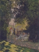Art - Oil Paintings - Masterpiece #4365 - Claude Monet - Parisians in Parc Monceau - Museum Quality
