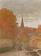 Art - Oil Paintings - Masterpiece #4367 - Claude Monet - Street in Fecamp - Gallery Quality