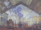 Art - Oil Paintings - Masterpiece #4370 - Claude Monet - La Gare of St. Lazare - Museum Quality