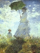 Art - Oil Paintings - Masterpiece #4374 - Claude Monet - Woman with a Parasol - Museum Quality