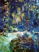 Art - Oil Paintings - Masterpiece #4380 - Claude Monet - Jardin de Monet a Giverny - Museum Quality