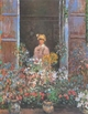 Art - Oil Paintings - Masterpiece #4383 - Claude Monet - Camille at the Window - Gallery Quality