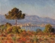 Art - Oil Paintings - Masterpiece #4394 - Claude Monet - Antibes Seen from the Notre Dame Plateau - Museum Quality
