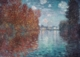 Art - Oil Paintings - Masterpiece #4404 - Claude Monet - Autumn at Argenteuil - Museum Quality