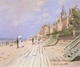 Art - Oil Paintings - Masterpiece #4406 - Claude Monet - Beach at Trouville - Gallery Quality