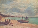 Art - Oil Paintings - Masterpiece #4410 - Claude Monet - Beach at Sainte-Adresse - Gallery Quality