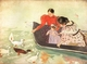 Art - Oil Paintings - Masterpiece #4419 - Mary Cassatt - Feeding the Ducks - Gallery Quality