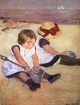 Art - Oil Paintings - Masterpiece #4423 - Mary Cassatt - Children Playing on the Beach - Museum Quality