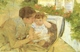 Art - Oil Paintings - Masterpiece #4428 - Mary Cassatt - Susan Comforting the Baby - Gallery Quality