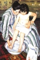 Art - Oil Paintings - Masterpiece #4429 - Mary Cassatt - The Bath - Museum Quality