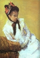 Art - Oil Paintings - Masterpiece #4446 - Mary Cassatt - Self-Portrait bbnb - Museum Quality